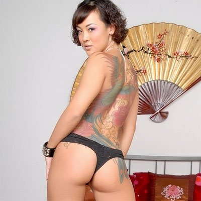 jandi lynn is a sexy asian with huge tattoos